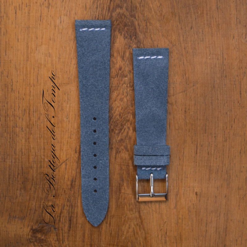 Correa Vintage M3 de piel de Ante BlueJeans 20mm