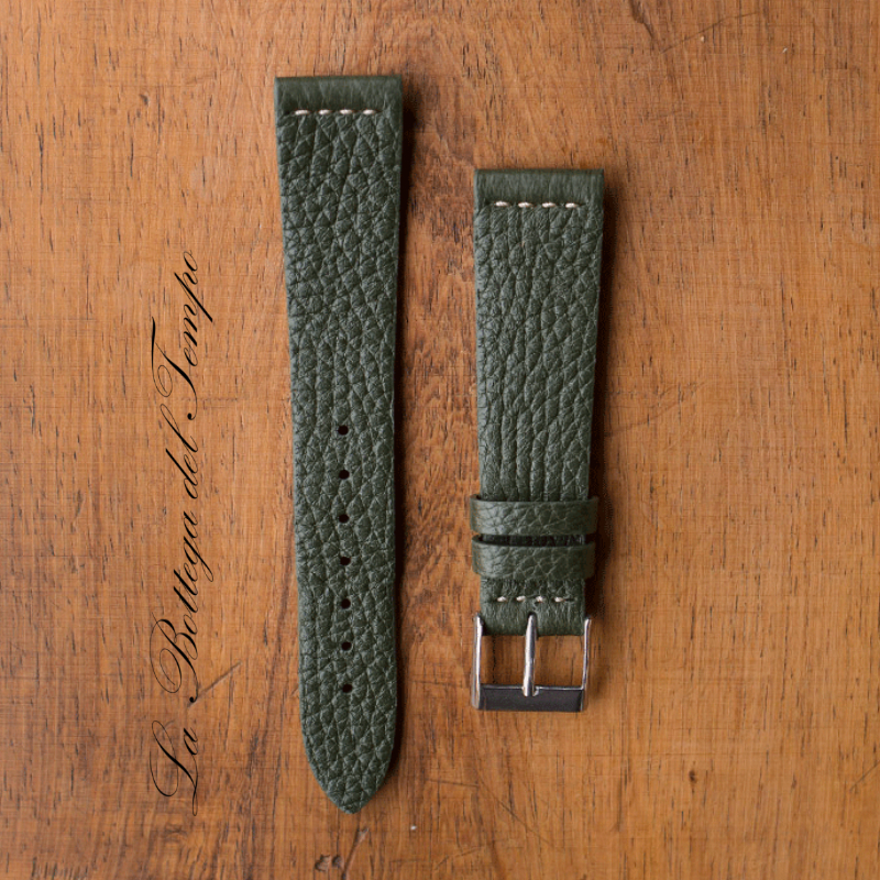 Piel de Ciervo M3 verde vintage 20mm