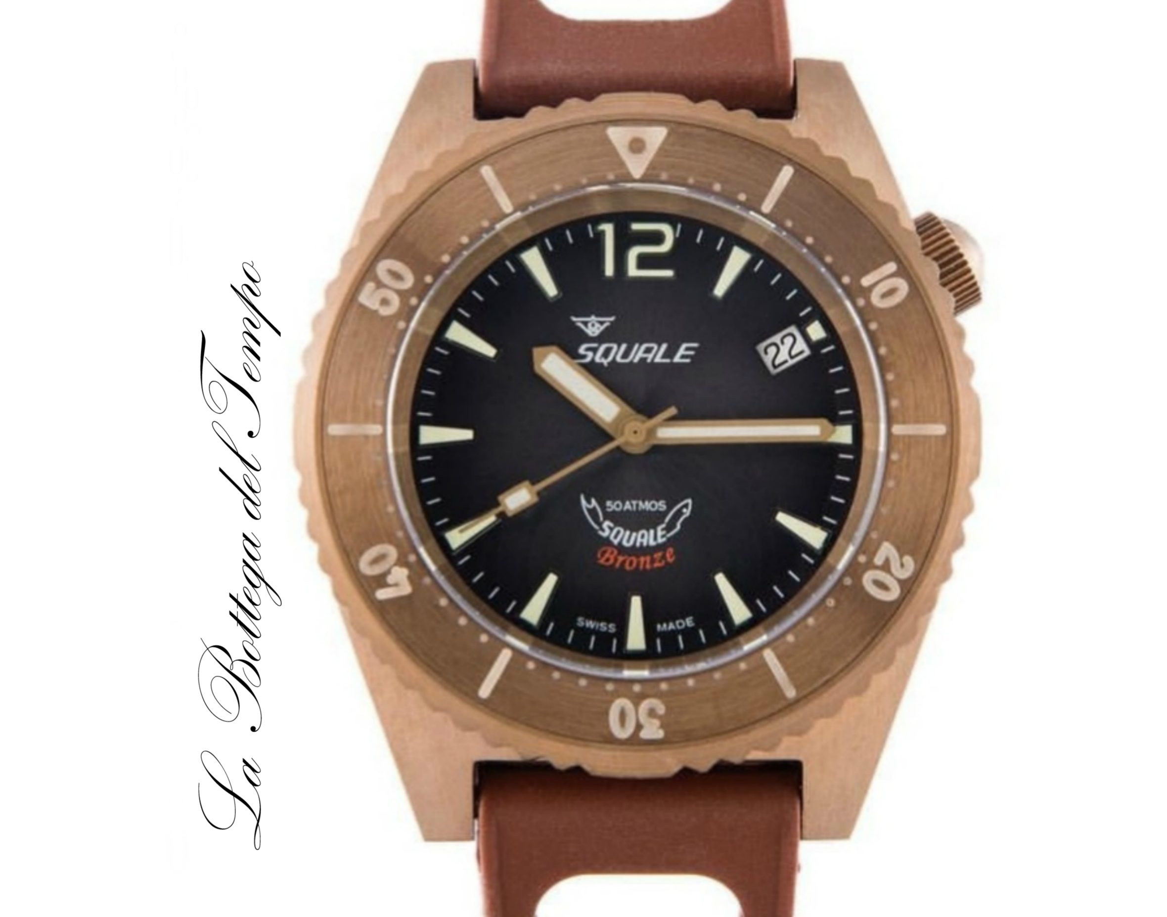 Squale Ref. 1521 Bronze Grey Dial