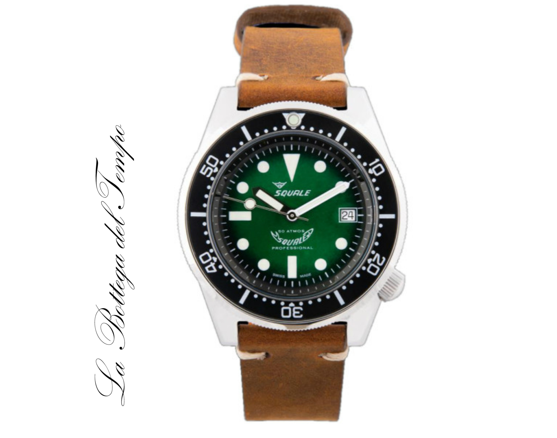 Squale Green Professional